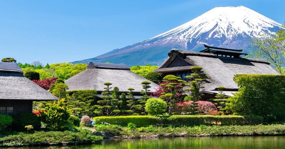 ทัวร์ภูเขาไฟฟูจิ (Mt. Fuji) และหมู่บ้านโอชิโนะฮักไก (Oshino Hakkai) แบบเต็มวัน จากโตเกียว